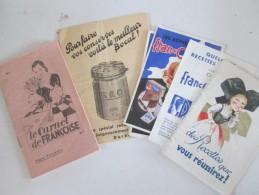 Documents Recettes De Cuisine - Vieux Papiers