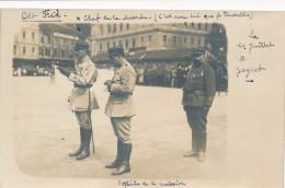 CPA SERBIE Unique Lot De 3 Cartes-photos Zagreb Défilé Militaire  Voir Détail Dans L'annonce - Croatie