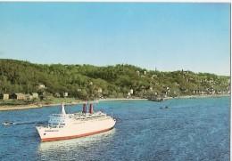 """CP567 - Postcard - Hambourg, Blankenese, Le """"Hanseatic"""" Sur L'Elbe - Blankenese"""