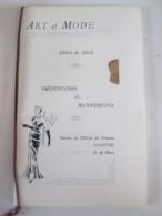 Programme  ART ET MODE  Milieu De Siècle  Presentation Des Mannequins   CHARTRES+ - Programmes