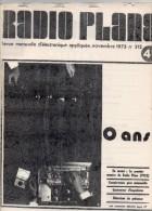FAC-Similé Radio Plans N°312 11/1973 - Compte-tours Pour Automobile - Générateur D'impulsion - Détecteur De Présence - Composants