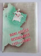 Carte Géographique Des Bons Hotels Et Restaurants   En Ile De France - Maps