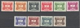 A.E.F.:Yvert N° Taxe 12/21* - A.E.F. (1936-1958)