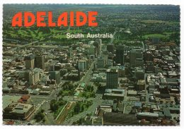 AUSTRALIA - AERIAL VIEW LOOKING NORTH - ADELAIDE / THEMATIC STAMP-OLYMPIC GAMES - Adelaide