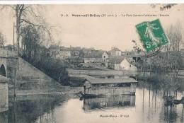CPA 49 MONTREUIL BELLAY Le Port Sainte Catherine - Entrée - Bateau-lavoir - Montreuil Bellay