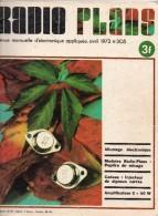 Radio Plans N°305 04/1973 Allumage électronique-Pupitre De Mixage-Injecteur De Signaux Carrés-Amplificateur 2x40 W - Autres Composants