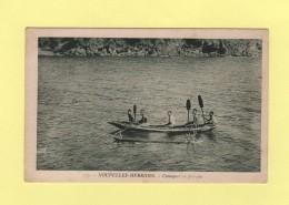 Nouvelles Hebrides - Canaques En Pirogue - Vanuatu