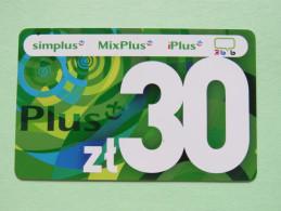 Poland - Phone Card - Simplus - Poland