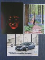 Belgium - 3 Postcards - Art Creative Design - Halloween - Opel Car - Forest Greetings - Ohne Zuordnung