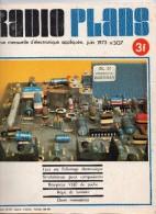 Radio Plans N°307 06/1973 Tout Sur L'allumage électronique - Synthétiseurs Pour Compositeurs - Récepteur VHF De Poche - Composants
