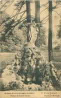 FAYT-lez-MANAGE - Maison De Retraites Pour Hommes - Statue Du Sacré-Coeur - Manage