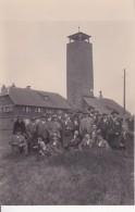 AK Foto Männergruppe Vor Aussichtsturm - Stuttgart-Botnang - Ca. 1910  (24393) - Stuttgart