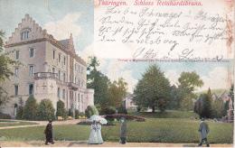 AK Thüringen - Schloss Reinhardsbrunn - 1911 (24398) - Friedrichroda