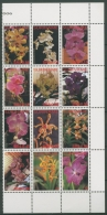 Surinam 2006 Orchideen Zusammendruck 2031/42 ZD Postfrisch (C12869) - Surinam