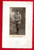 Médecin Français En Uniforme. Photographie C. Peigné, Tours - Guerre, Militaire