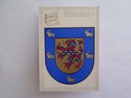 "POSTCARD HERALDIC COAT OF ARMS Héraldique NAME "" COELHO"" PORTUGAL - Portugal"