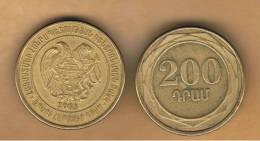 ARMENIA -  200 Drams 2003  KM96 - Armenia