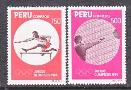 PERU  821-2   **   OLYMPICS  TRACK  SHOOTING - Peru