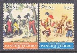 PERU  1205-6   **   FOLK  LORE - Peru