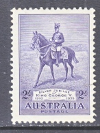 AUSTRALIA  154  Fault  *   KING  ON  HORSEBACK - 1913-36 George V: Heads