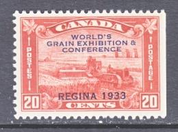 CANADA  203   *  WORLD  GRAIN  EXPO - Unused Stamps
