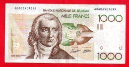 Belgique - Billet Circulé De 1000 Francs Belges ... ( Ref -- 3964 ) - Belgium