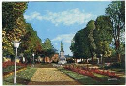 9N   AULNOYE SQUARE DU GENERAL LECLERC ET MONUMENT AUX MORTS ( GAUDIER REMBAUX ) - Aulnoye