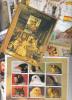 100 Hojas Bloque Diferentes Nuevas , Tchad , Madagascar, Niger, Somalia, Santo Tome, Oman .... - Colecciones (sin álbumes)