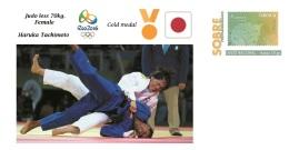 Spain 2016 - Olympic Games Rio 2016 - Gold Medal Judo Female Japon Cover - Juegos Olímpicos