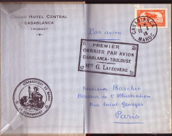 AVIATION - COURRIER SUD - A.DE SAINT-EXUPERY - EDITION NUMEROTE - 1955 - PREVOIR 5€ DE PORT.. - Littérature