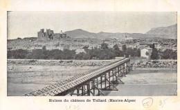 CPA 05 RUINES DU CHATEAU DE TALLARD - Francia