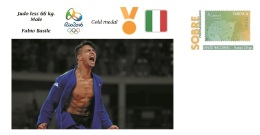 Spain 2016 - Olympic Games Rio 2016 - Gold Medal Judo Male Italy Cover - Juegos Olímpicos