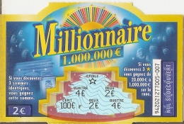 Millionnaire 94202 Traits Bleus - Vieux Papiers