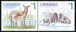 Canada - 2005 - Animals - Mint Definitive Stamp Set - 1952-.... Règne D'Elizabeth II