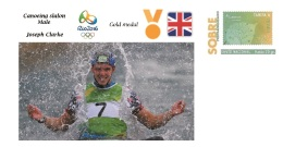 Spain 2016 - Olympic Games Rio 2016 - Gold Medal Canoeing Male Great Britain Cover - Juegos Olímpicos