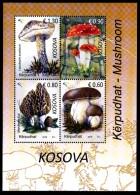REPUBLIC OF KOSOVO 2016 Mushroom Block** - Kosovo