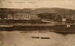ISLE OF MAN - DOUGLAS - FORT ANNE HOTEL 1927 Iom396 - Man (Eiland)