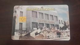 Guatemala-(gua-telgua-032)-national Library Biblioteca-(20q)-tirage-100.000-used Card +1card Prepiad Free - Guatemala