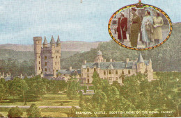 5506. ROYAUME UNI ECOSSE CPA BALMORAL CASTLE. SCOTTISH HOME OF THE ROYAL FAMILY 1931 - Aberdeenshire