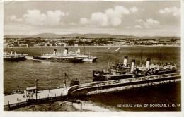 ISLE OF MAN - DOUGLAS - GENERAL VIEW RP Iom401 - Isle Of Man