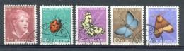 MR747 FAUNA VLINDERS INSECTS BUTTERFLIES SCHMETTERLINGE MARIPOSAS PRO JUVENTUTE HELVETIA SUISSE 1952 Gebr/used - Pro Juventute