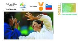 Spain 2016 - Olympic Games Rio 2016 - Gold Medal Judo Female Slovenia Cover - Juegos Olímpicos