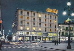 LECCE - Via Salvatore Trinchese - Notturno - Insegna Pubblicitaria Luminosa Coca Cola - 1969 - Lecce