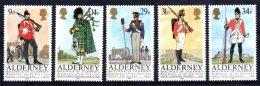 Alderney - 1985 - Regiments Of Alderney Garrison - MNH - Alderney