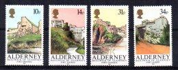 Alderney - 1986 - Alderney Forts - MNH - Alderney