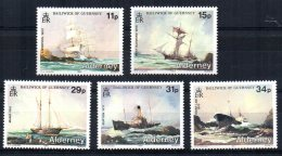 Alderney - 1987 - Alderney Shipwrecks -  MNH - Alderney