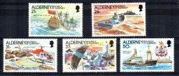 Alderney - 1991 - Automation Of Casquets Lighthouse - MNH - Alderney