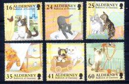 Alderney - 1996 - Cats - MNH - Alderney