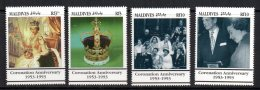 Maldives - 1993 - 40th Anniversary Of Coronation - MNH - Malediven (1965-...)