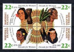 Marshall Islands - 1985 - International Decade For Women - MNH - Marshall